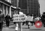 Image of picket line New York City USA, 1941, second 32 stock footage video 65675053245