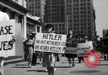 Image of picket line New York City USA, 1941, second 35 stock footage video 65675053245