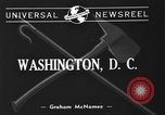 Image of firemen Washington DC USA, 1940, second 2 stock footage video 65675053249
