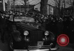 Image of President Franklin D Roosevelt re-elected in 1940 and 1944 New York United States USA, 1940, second 62 stock footage video 65675053255