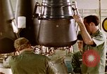 Image of LBM-30 Minuteman missile Vandenberg Air Force Base California USA, 1979, second 24 stock footage video 65675053257