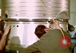 Image of LBM-30 Minuteman missile Vandenberg Air Force Base California USA, 1979, second 39 stock footage video 65675053257