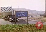 Image of LBM-30 Minuteman missile Vandenberg Air Force Base California USA, 1979, second 49 stock footage video 65675053257