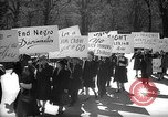 Image of American Peace Mobilization anti-war march in World War 2 Washington DC USA, 1941, second 2 stock footage video 65675053289