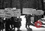 Image of American Peace Mobilization anti-war march in World War 2 Washington DC USA, 1941, second 7 stock footage video 65675053289