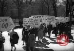 Image of American Peace Mobilization anti-war march in World War 2 Washington DC USA, 1941, second 13 stock footage video 65675053289