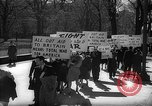 Image of American Peace Mobilization anti-war march in World War 2 Washington DC USA, 1941, second 14 stock footage video 65675053289