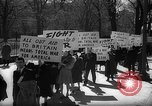 Image of American Peace Mobilization anti-war march in World War 2 Washington DC USA, 1941, second 15 stock footage video 65675053289