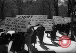 Image of American Peace Mobilization anti-war march in World War 2 Washington DC USA, 1941, second 16 stock footage video 65675053289