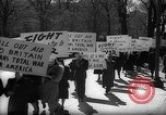 Image of American Peace Mobilization anti-war march in World War 2 Washington DC USA, 1941, second 17 stock footage video 65675053289