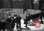 Image of American Peace Mobilization anti-war march in World War 2 Washington DC USA, 1941, second 18 stock footage video 65675053289