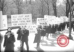 Image of American Peace Mobilization anti-war march in World War 2 Washington DC USA, 1941, second 19 stock footage video 65675053289