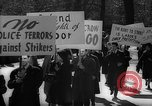 Image of American Peace Mobilization anti-war march in World War 2 Washington DC USA, 1941, second 21 stock footage video 65675053289