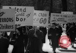 Image of American Peace Mobilization anti-war march in World War 2 Washington DC USA, 1941, second 22 stock footage video 65675053289