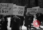 Image of American Peace Mobilization anti-war march in World War 2 Washington DC USA, 1941, second 23 stock footage video 65675053289