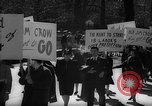 Image of American Peace Mobilization anti-war march in World War 2 Washington DC USA, 1941, second 24 stock footage video 65675053289