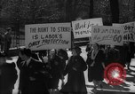 Image of American Peace Mobilization anti-war march in World War 2 Washington DC USA, 1941, second 28 stock footage video 65675053289