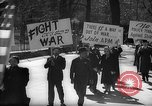 Image of American Peace Mobilization anti-war march in World War 2 Washington DC USA, 1941, second 32 stock footage video 65675053289