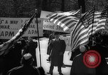 Image of American Peace Mobilization anti-war march in World War 2 Washington DC USA, 1941, second 39 stock footage video 65675053289