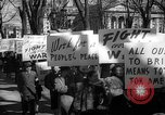 Image of American Peace Mobilization anti-war march in World War 2 Washington DC USA, 1941, second 44 stock footage video 65675053289