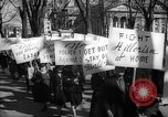 Image of American Peace Mobilization anti-war march in World War 2 Washington DC USA, 1941, second 56 stock footage video 65675053289