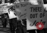 Image of American Peace Mobilization anti-war march in World War 2 Washington DC USA, 1941, second 62 stock footage video 65675053289