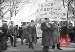 Image of American Peace Mobilization delegates Washington DC USA, 1941, second 52 stock footage video 65675053290