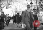 Image of American Peace Mobilization delegates Washington DC USA, 1941, second 55 stock footage video 65675053290