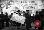Image of American Peace Mobilization delegates Washington DC USA, 1941, second 62 stock footage video 65675053290