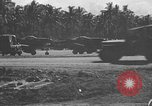 Image of F6F Hellcat planes Bougainville New Guinea, 1943, second 51 stock footage video 65675053305