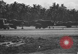 Image of F6F Hellcat planes Bougainville New Guinea, 1943, second 53 stock footage video 65675053305