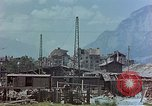 Image of ruins of a factory Bavaria Germany, 1945, second 8 stock footage video 65675053360
