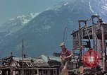 Image of ruins of a factory Bavaria Germany, 1945, second 20 stock footage video 65675053360