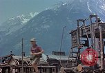 Image of ruins of a factory Bavaria Germany, 1945, second 21 stock footage video 65675053360
