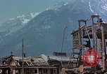 Image of ruins of a factory Bavaria Germany, 1945, second 23 stock footage video 65675053360