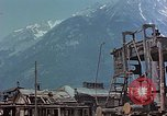 Image of ruins of a factory Bavaria Germany, 1945, second 28 stock footage video 65675053360
