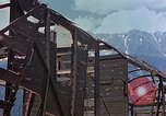 Image of ruins of a factory Bavaria Germany, 1945, second 33 stock footage video 65675053360