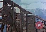 Image of ruins of a factory Bavaria Germany, 1945, second 34 stock footage video 65675053360