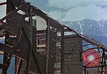 Image of ruins of a factory Bavaria Germany, 1945, second 36 stock footage video 65675053360