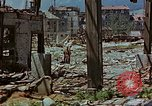 Image of ruins of a factory Bavaria Germany, 1945, second 58 stock footage video 65675053360