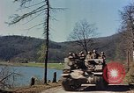 Image of American military vehicles Germany, 1945, second 49 stock footage video 65675053366