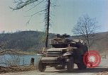 Image of American military vehicles Germany, 1945, second 59 stock footage video 65675053366