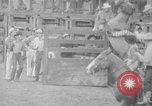 Image of Rodeo competition Huntsville Texas USA, 1945, second 35 stock footage video 65675053380