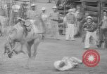 Image of Rodeo competition Huntsville Texas USA, 1945, second 38 stock footage video 65675053380