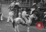 Image of Rodeo competition Huntsville Texas USA, 1945, second 40 stock footage video 65675053380