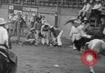 Image of Rodeo competition Huntsville Texas USA, 1945, second 41 stock footage video 65675053380