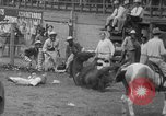 Image of Rodeo competition Huntsville Texas USA, 1945, second 42 stock footage video 65675053380