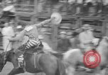 Image of Rodeo competition Huntsville Texas USA, 1945, second 46 stock footage video 65675053380