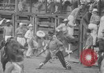 Image of Rodeo competition Huntsville Texas USA, 1945, second 50 stock footage video 65675053380
