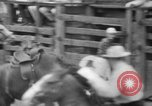 Image of Rodeo competition Huntsville Texas USA, 1945, second 52 stock footage video 65675053380